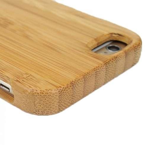 Coque pour iPhone en Bambou naturel