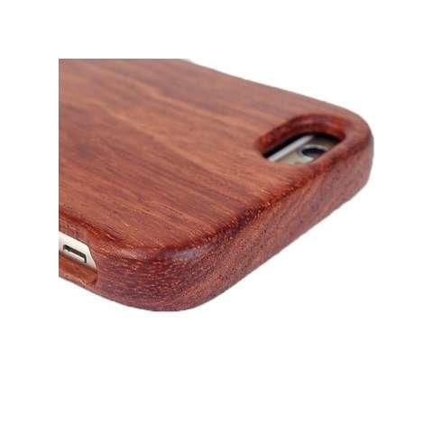 Coque pour iPhone en bois de rosier